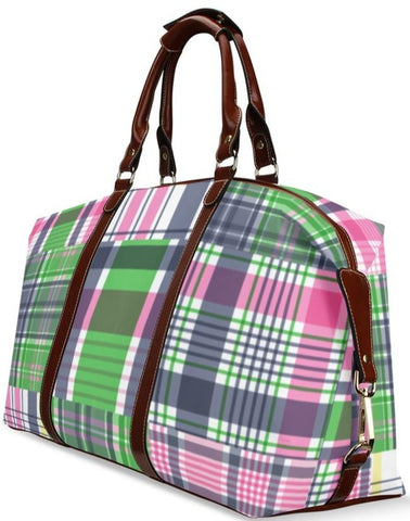 Madras Travel Bag Flight Bag