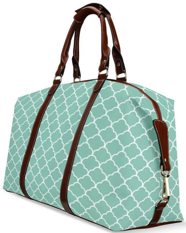 Minty Moroccan Travel Bag