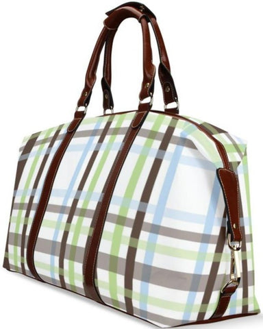 Plaid on Vacay Travel Bag