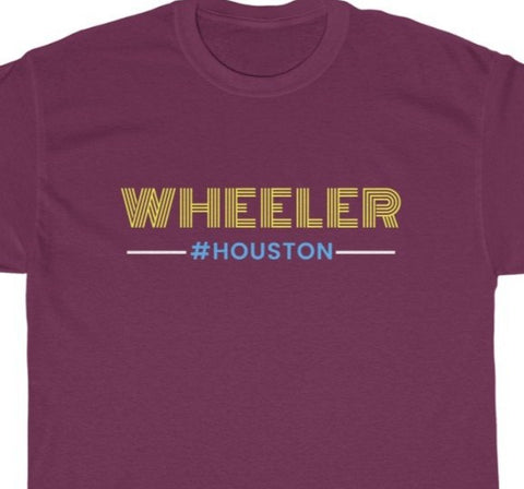 WHEELER Unisex Heavy Cotton Tee