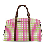 Spring Plaid Travel Bag