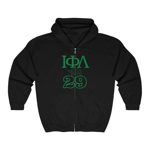 Iota 29 Full Zip Hooded Sweatshirt