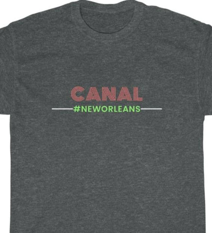CANAL Unisex Heavy Cotton Tee