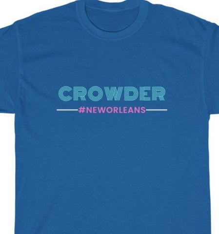 CROWDER Unisex Heavy Cotton Tee