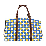 Royal Blue & Gold Flight Bag