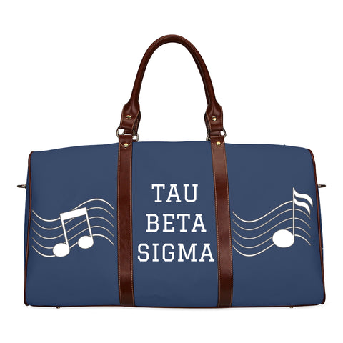 Tau Beta Sigma Travel Tote Bag