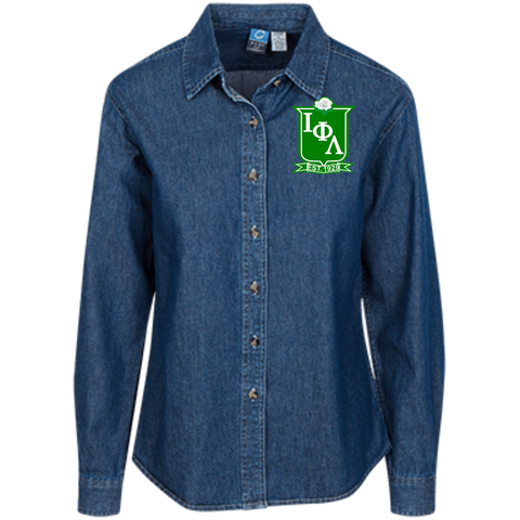 LSP10 Women's LS Denim Shirt