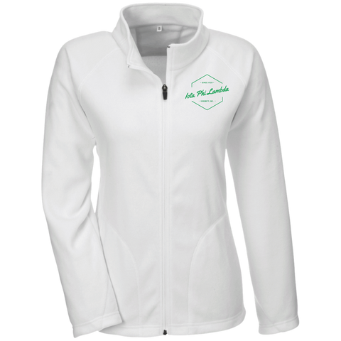 Embroidered Iota Phi Lambda Vintage Design Ladies' Microfleece
