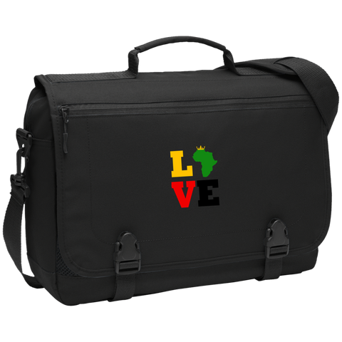 LOVE Africa Messenger Briefcase