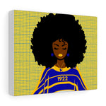 1922 Canvas Gallery Wrap (Pattern)