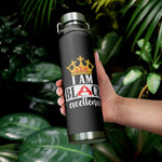 Delta Black Excellence 22oz Vacuum Insulated Bottle