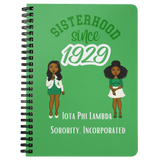 Sisterhood Since 1929 - Quinn & Ciara - Spiralbound Notebook