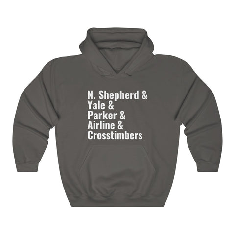 Independence Heights/Studewood Unisex Heavy Blend™ Hooded Sweatshirt