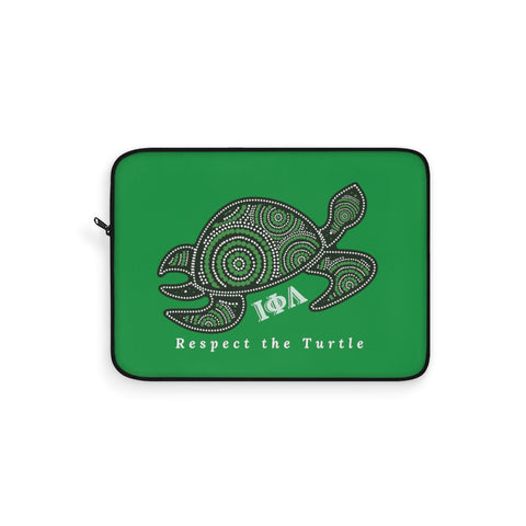 Respect the Turtle Laptop Sleeve