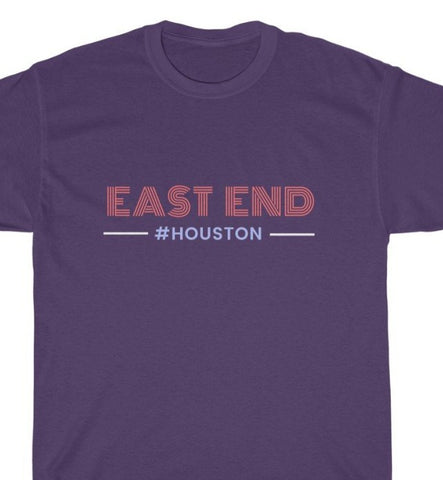 EAST END Unisex Heavy Cotton Tee