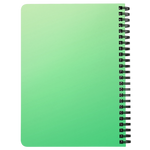 Sisterhood Since 1908 Spiral Bound Notebook (Gradient Green)