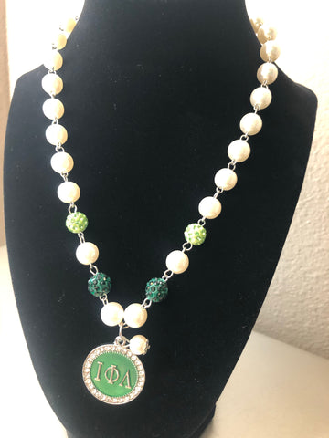 Iota Pearl Elegance Necklace