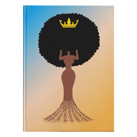 She Knows Her Roots Hardcover Journal