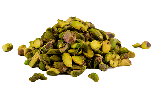 Pistachio Shelled Kernels, Halves and Pieces, Raw, Organic 5 lb HB
