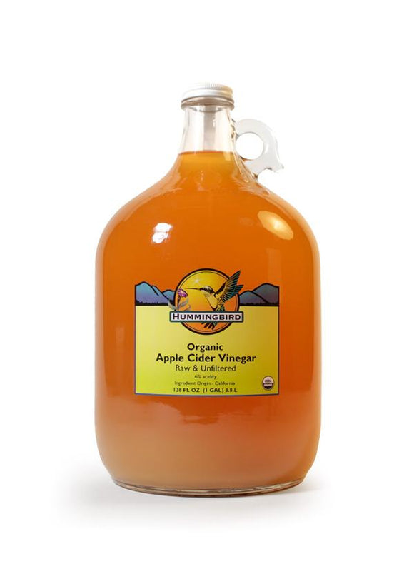 Apple Cider Vinegar, Raw, Unfiltered, Organic HB