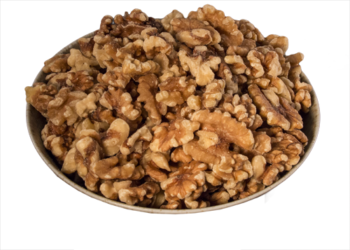 Walnuts, Halves & Pieces, Raw, Organic 5 lb HB