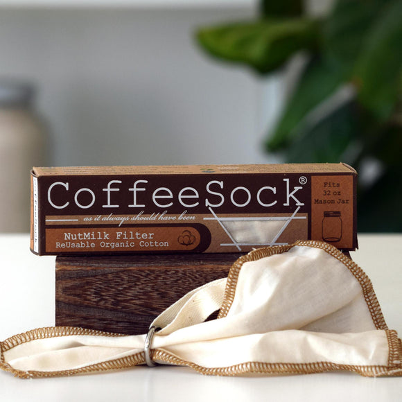 Nut Milk Filter, Coffee Sock