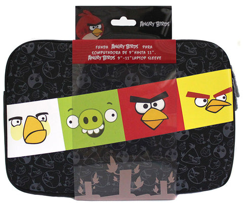 AB12SL01-11 Funda P/ Laptop Angry Birds