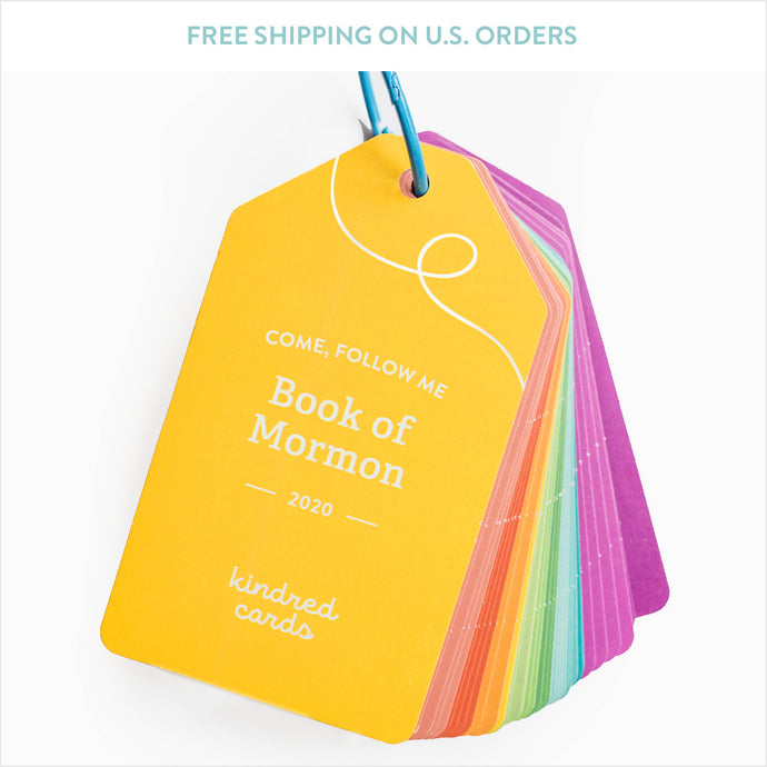 Clearance Uncoated Cards - Book of Mormon 2020