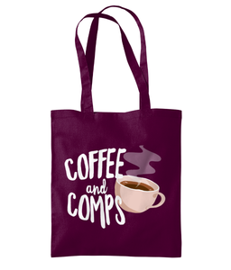 Coffee And Comps - Shoulder Tote Bag
