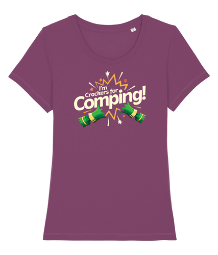 I'm Crackers For Comping - Women's T-shirt
