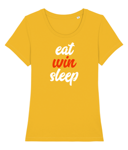 Eat Win Sleep - Women's T-shirt