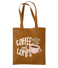 Load image into Gallery viewer, Coffee And Comps - Shoulder Tote Bag