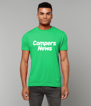 Load image into Gallery viewer, Compers News (White Text) - Men's T-shirt