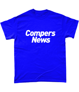 Compers News (White Text) - Men's T-shirt