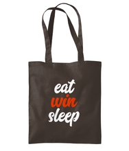 Load image into Gallery viewer, Eat Win Sleep - Shoulder Tote Bag