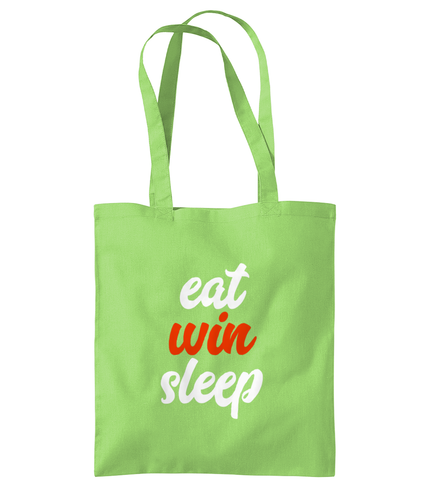Eat Win Sleep - Shoulder Tote Bag