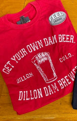 Vintage Logo Get Your Own Dam Beer T-shirt
