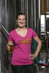 Women's Beer T-Shirt<br>Happy Days V-Neck