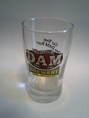 Dam Logo 4 oz. Beer Tasting Glass
