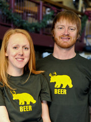 Beer T-Shirt<br>Beer Bear Tee