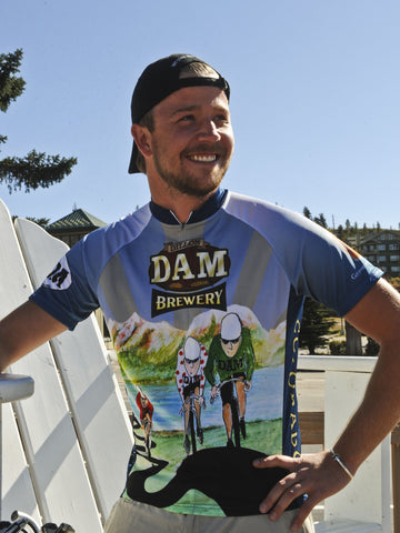Local Artist's Custom<br>Cycling Jersey from Primal Wear