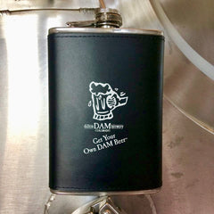 Dillon Dam Brewery<br>Stainless Steel Flask