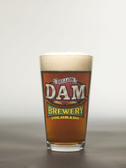 Dillon Dam Brewery<br>Sign Logo Pint