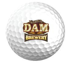 Dam Brewery Golf Balls