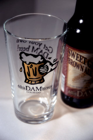 Get Your Own Dam Beer<br>Pub Pint Glass
