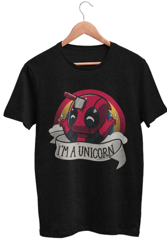 T Shirt Gamer <br> Deadpool Unicorn