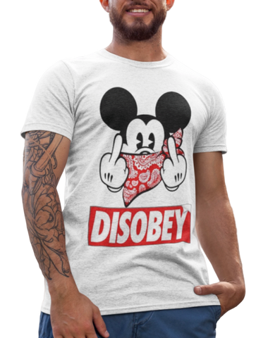 t shirt mickey disobey