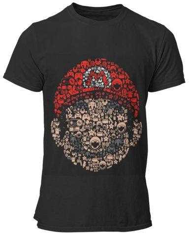 T Shirt Gamer <br> Super Mario Bros