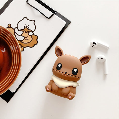 Coque airpods évoli pokemon