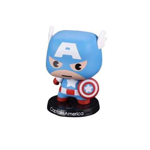 figurine mini captain america